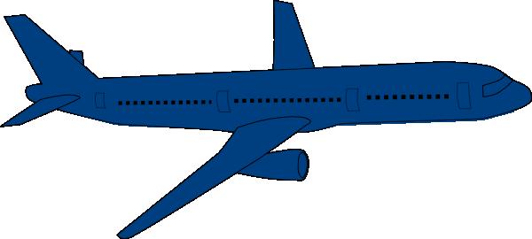 600x270 Moving Plane Clip Art