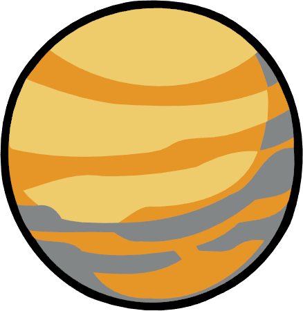 438x450 Planet Clipart Venus Pencil And In Color Planet