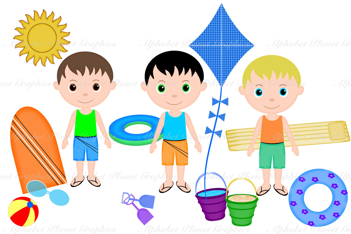 1200x800 Collection Of Summer Clothes For Kids Clipart High Quality