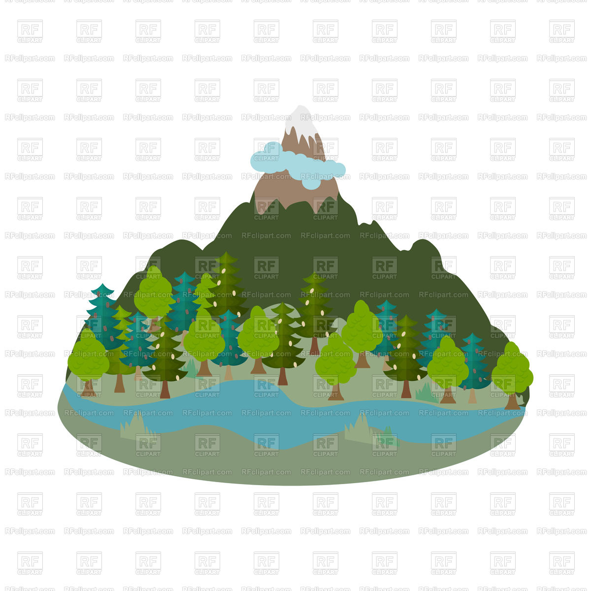 1200x1200 Flat Earth Planet. Ancient Civilization. Royalty Free Vector Clip