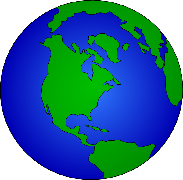 600x592 Globe 2 Clip Art At Clker Com Vector Clip Art Online Royalty Free