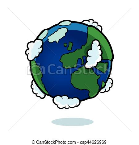 450x470 Planet Earth Clip Art Vector