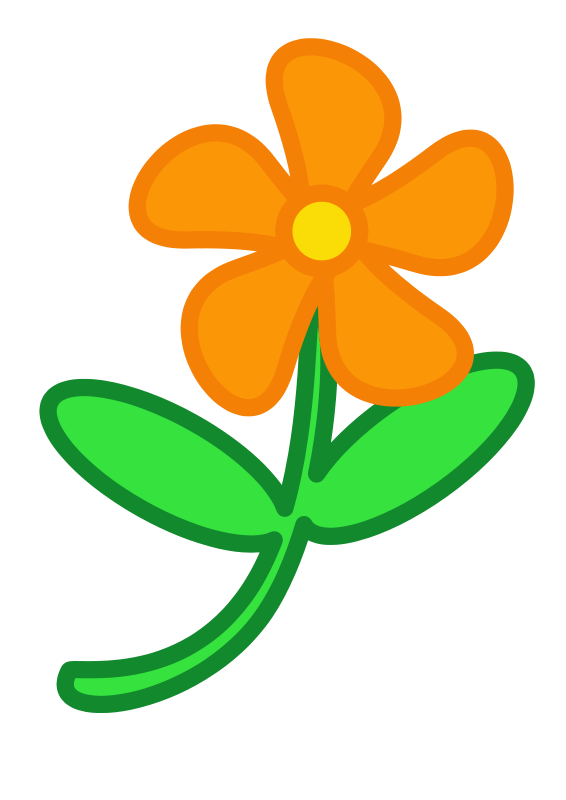 566x800 Simple Plant Cliparts