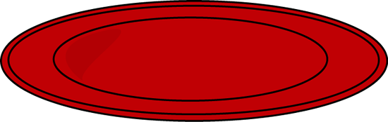 550x174 Red Dinner Plate Clip Art Clipart Panda