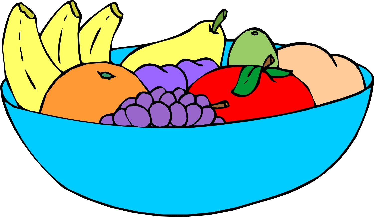 1501x872 Bowl Of Fruit Clipart Plate 1 Clip Art Net Lively