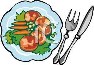 300x207 Healthy Food Plate Clip Art Cliparts