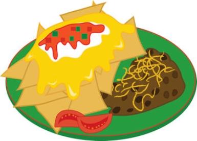 385x276 Plate Of Food Clip Art Image Clipart Panda