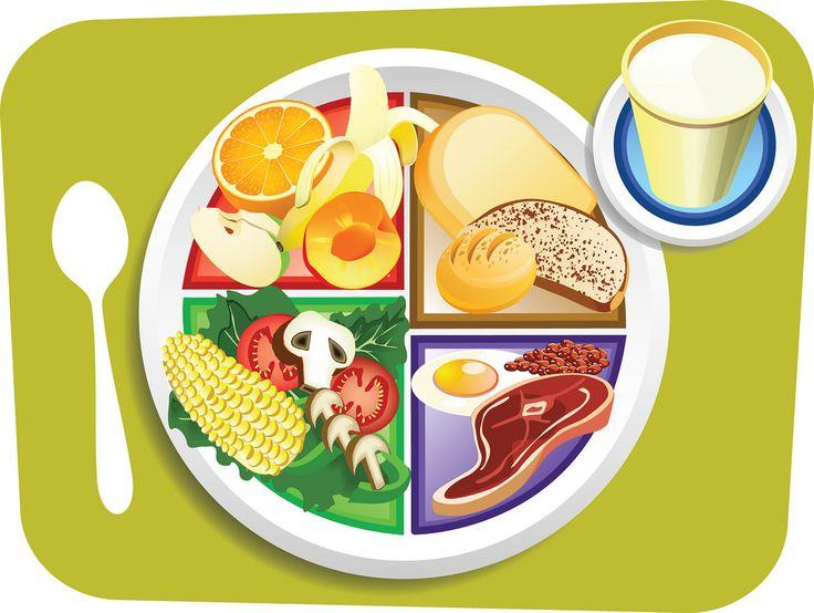 736x554 Plate Of Food Clip Art School Clipart