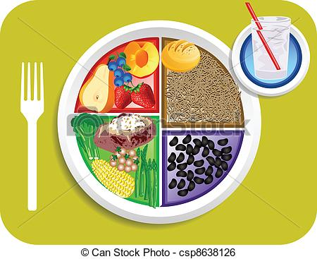 450x367 Plate Of Food Clipart Clipart Panda
