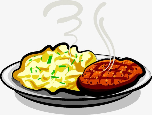 Plate Of Food Clipart at GetDrawings.com | Free for ...