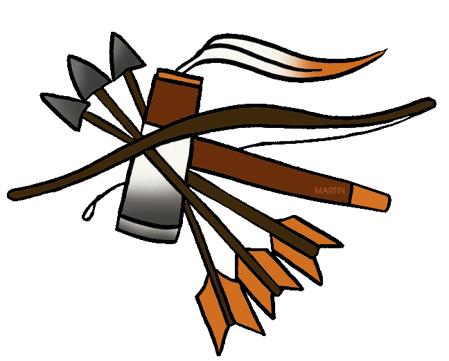 648x522 Native Americans Clip Art By Phillip Martin, Southeast Woodland