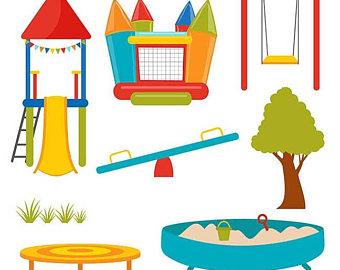 340x270 Playground Clipart Etsy Playground Clipart