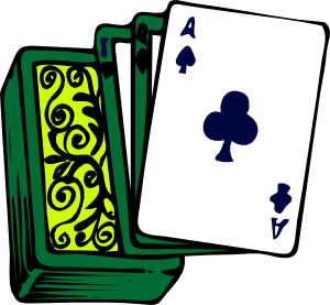 300x277 Deck Of Cards Clip Art