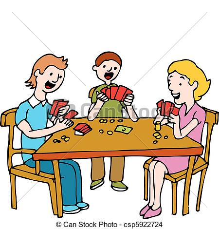 450x470 People Playing Poker Card Game. An Image Of A People Playing