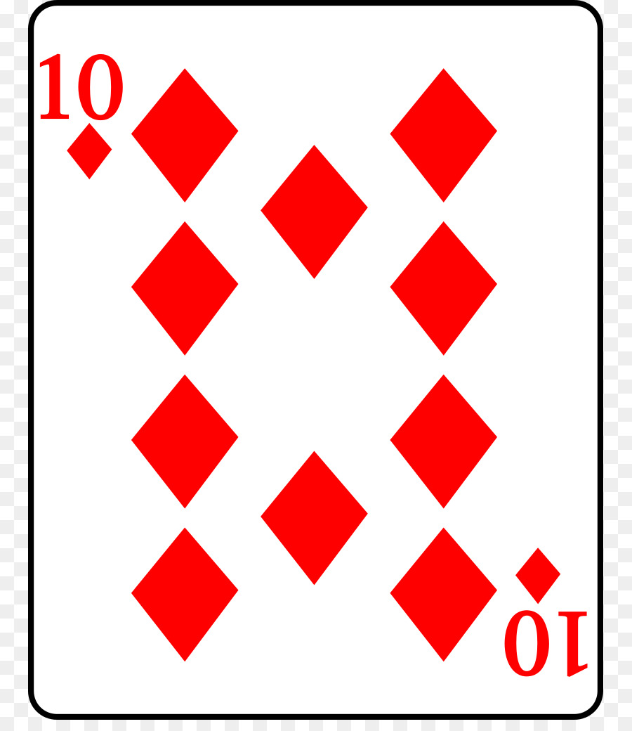 900x1040 Playing Card Suit Diamond Curse Of Scotland Clip Art