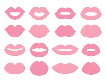 340x270 Kiss Clip Art Etsy