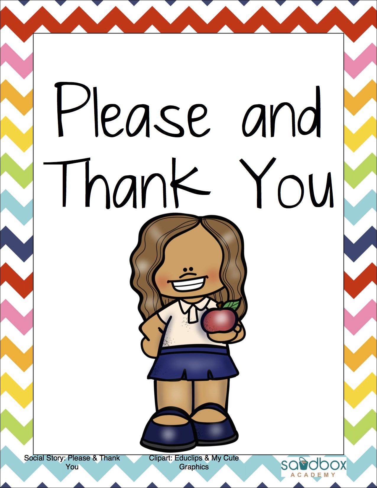 1275x1650 Social Story Please And Thank You Sandbox Academy
