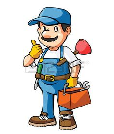 236x278 Non Copyrighted Drawings Cartoon Happy Plumber Handyman By Poul