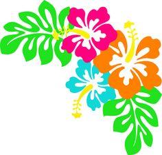 236x225 Hawaiian Flowers Clip Art No Background