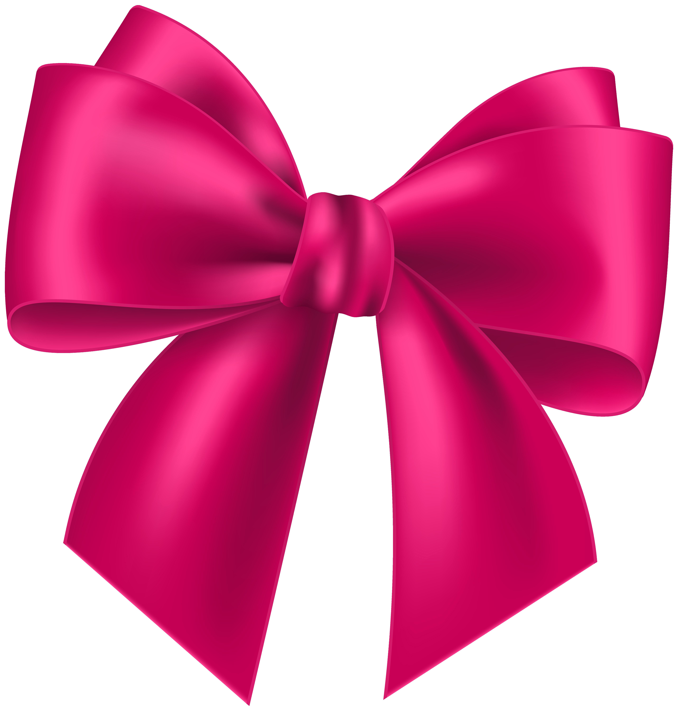 5714x6000 Pink Bow Transparent Clip Art Image Png M 1492484102 Clipart