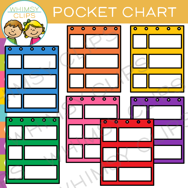 600x600 Pocket Chart Clip Art , Images Amp Illustrations Whimsy Clips