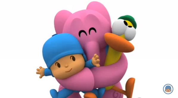 598x331 Pocoyo On Twitter Never Give Up Hugging Your
