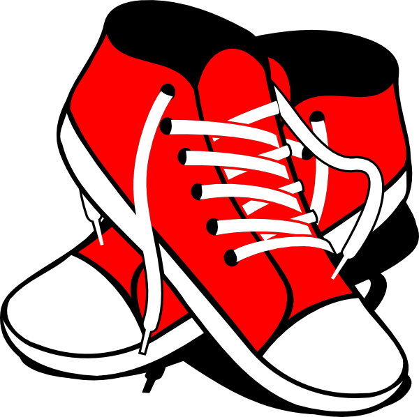 600x598 Shoe Clipart Small