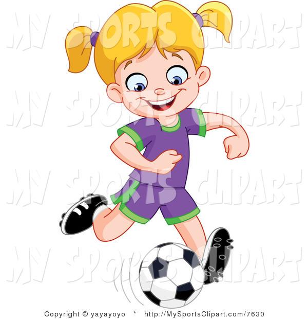 600x620 Kick Soccer Ball Clip Art