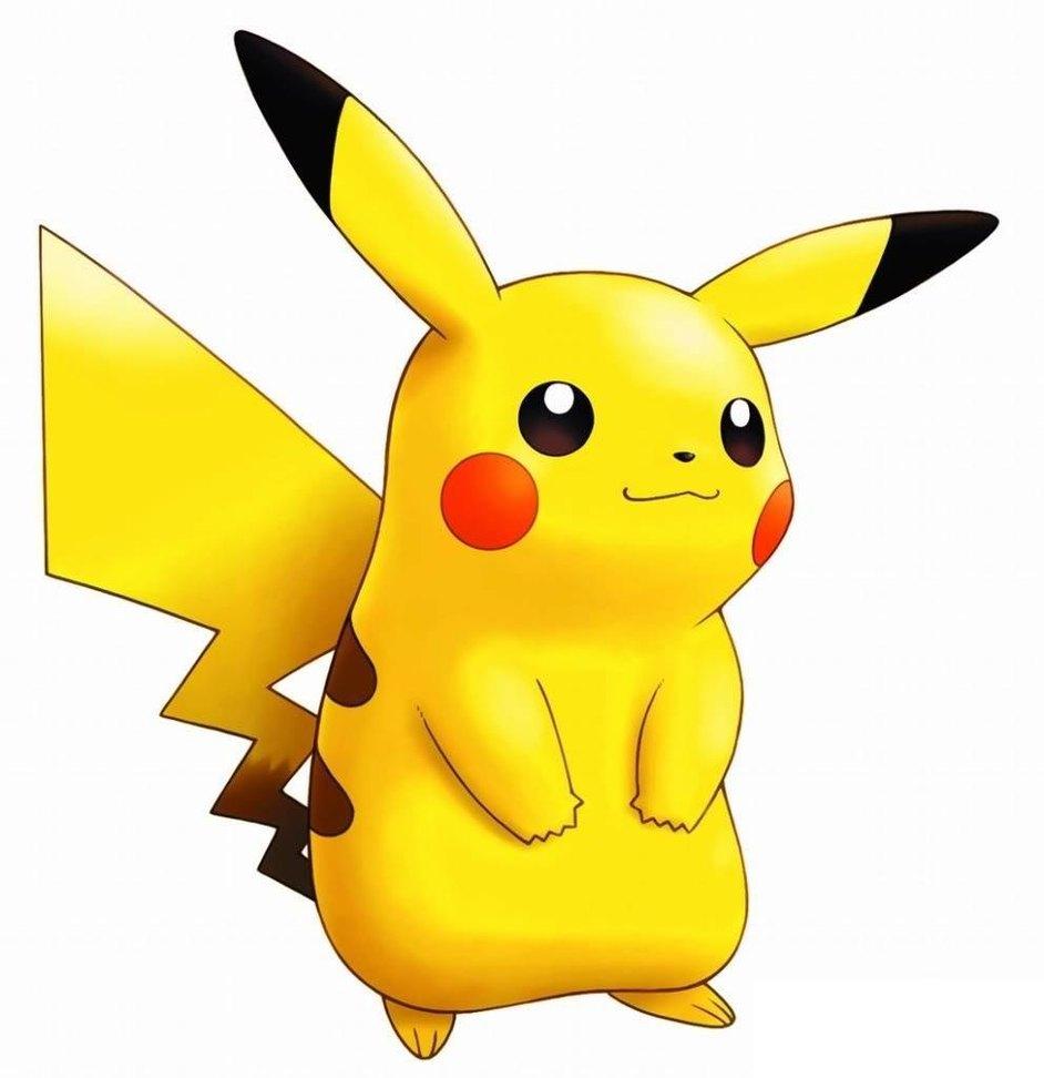 942x972 Pikachu Clipart