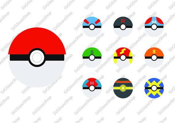570x399 Pokemon Ball Svg