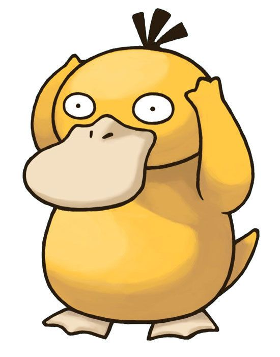 550x700 Collection Of Pokemon Drawings Psyduck High Quality, Free