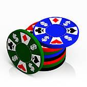 170x170 Clipart Poker Chips