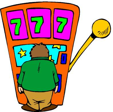 395x389 Gambling Clipart