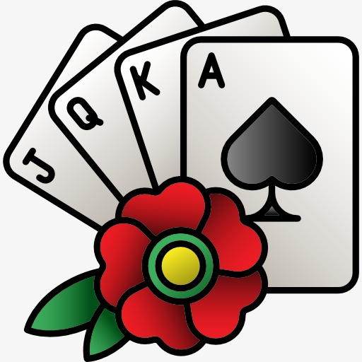 512x512 Playing Cards Clipart Playing Cards And Flowers Flowers Poker Play