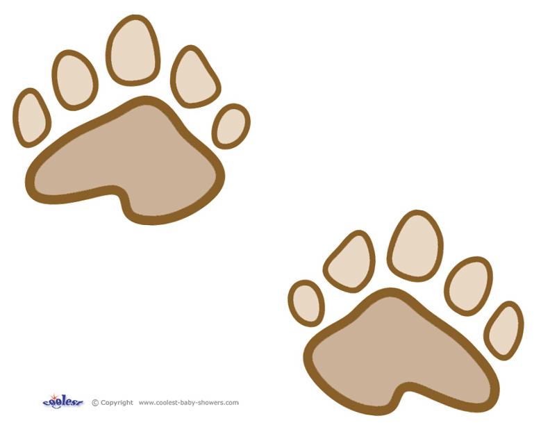 792x612 Bear Cub Clipart Printable