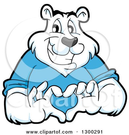 450x470 Collection Of Polar Bear Mascot Drawing High Quality, Free