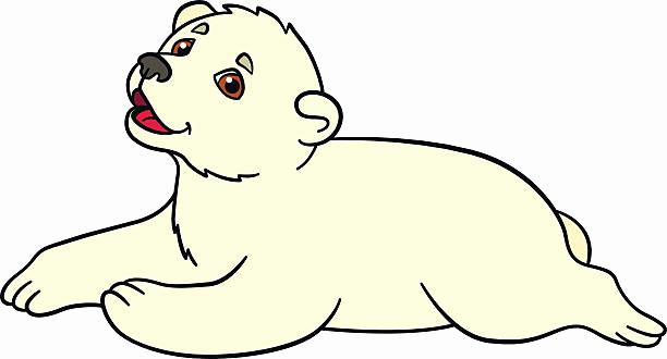 612x330 Baby Dump Cute Baby Polar Bear Cartoon Ohmygirl.us