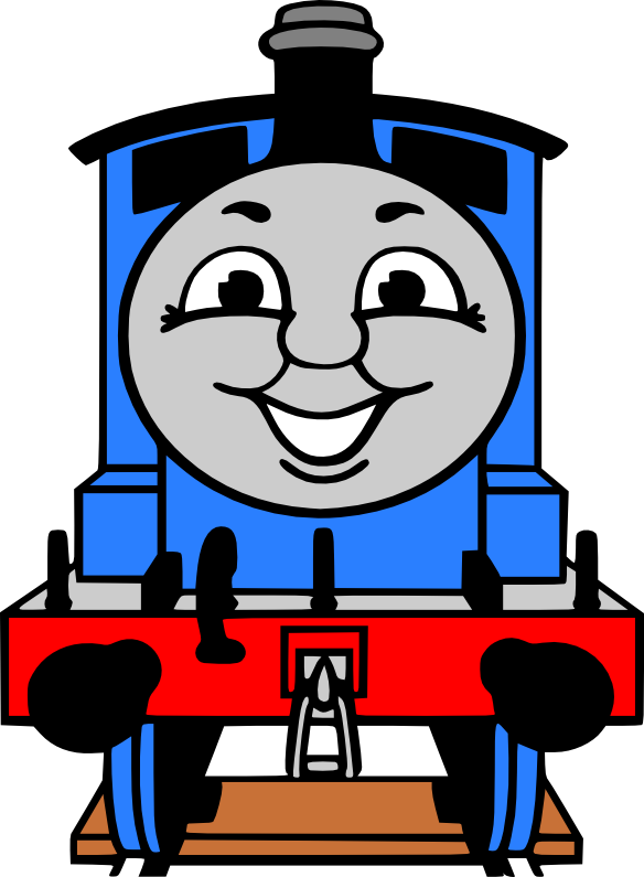 584x795 Free Thomas The Train Clipart