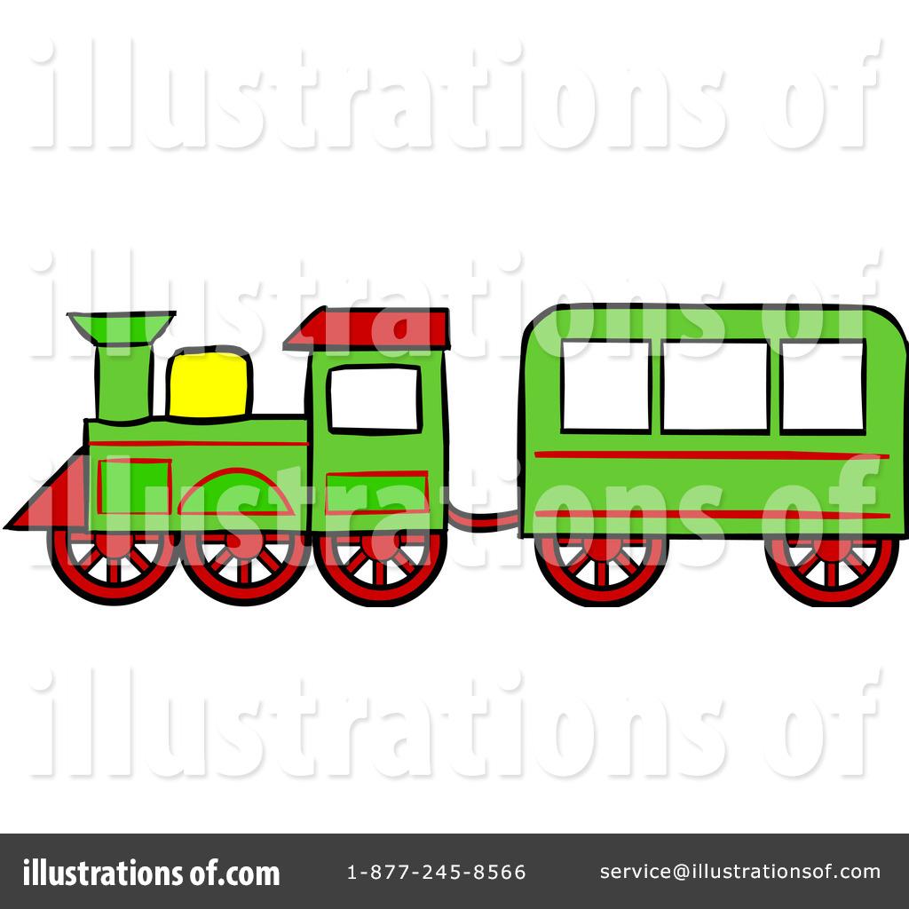 1024x1024 Railroad Clipart Green Train