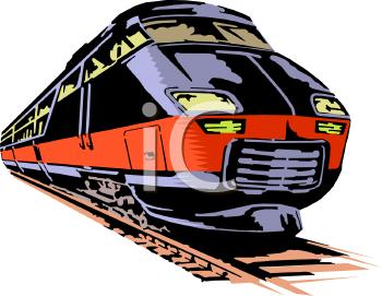350x271 Train Clipart Passenger Train