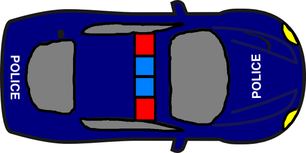 600x300 Image Of Car Clipart Top View