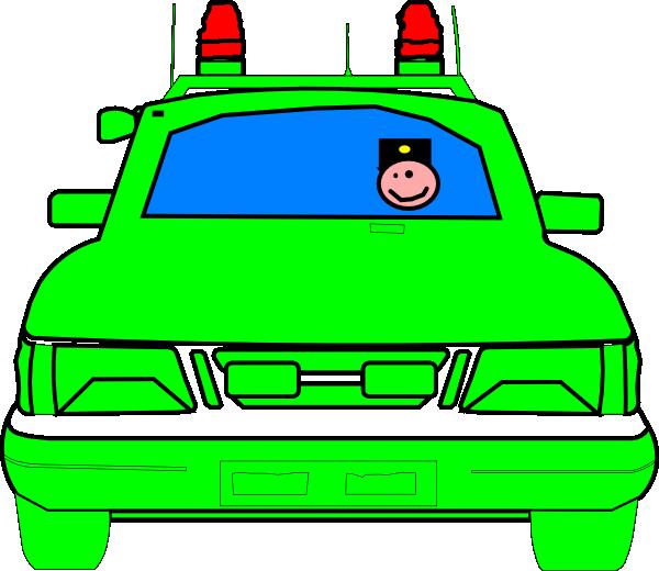 600x520 Police Car Clip Art