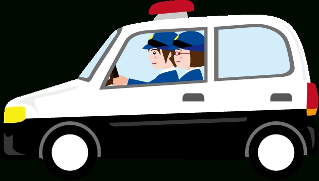 631x358 Awesome Of Police Car Clipart Png