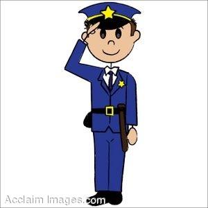 300x300 Clip Art Of A Stick Figure Policeman