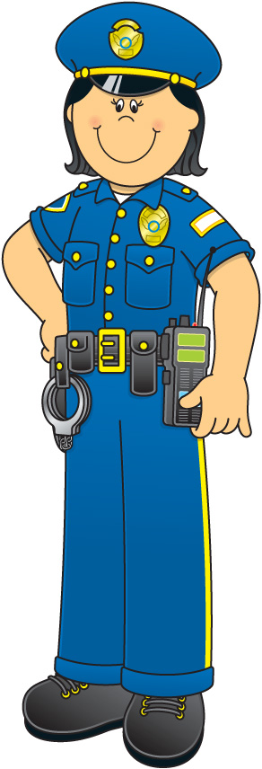 292x856 Police Clipart Police Woman