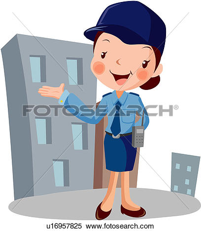 408x470 Police Woman Clipart