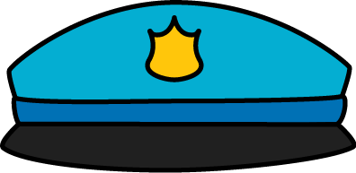 396x193 Police Hat Clipart Letters Format