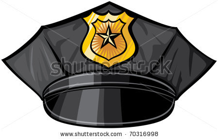 450x287 Police Hat Drawing