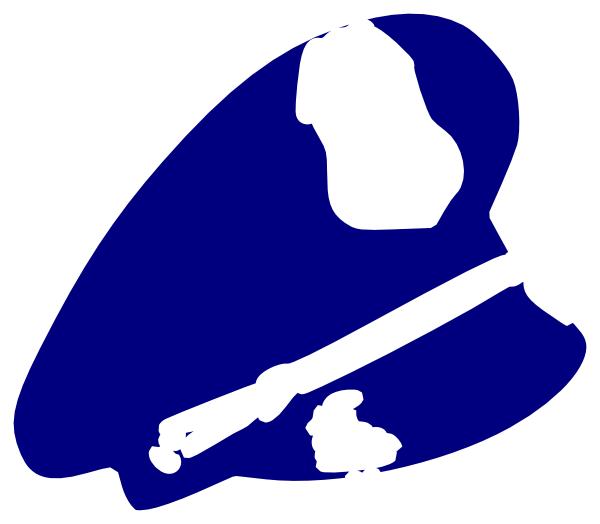 600x524 Police Man Hat Clip Art