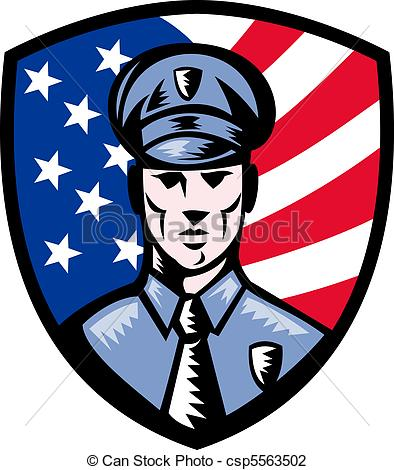 394x470 Drawing Clipart Police Officer